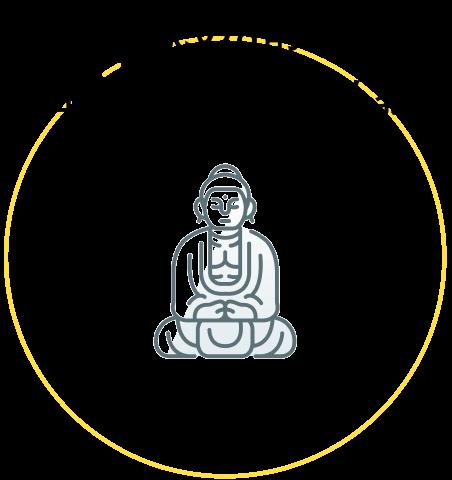 国民の8割が日本と同じ大乗仏教